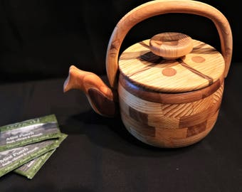 Handmade Teapot by Gerry (Limited Edition - C)