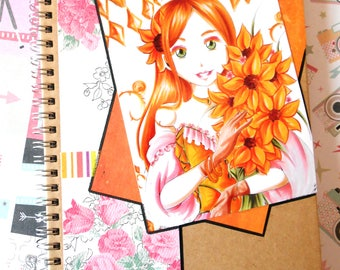 Spiral Notebook - Himawari