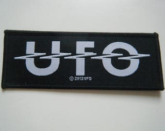 UFO Patch iron on sew on badge MSG michael schenker group classic rock heavy metal new