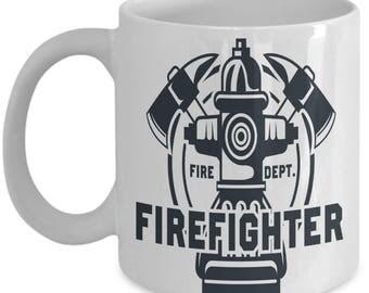 Firefighter Coffee Mug | Firefighter Gift | Firefighter gifts | Firefighter Wife | Firefighter Decor | Firefighter Daughter | Printable