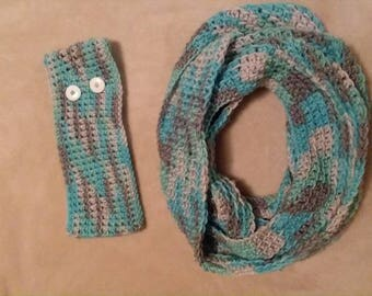 Infinity Scarf and Headband set