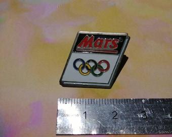 Enamel pin vintage March pins Olympics