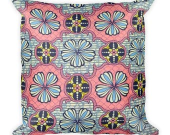 Pink Royalty Square Pillow