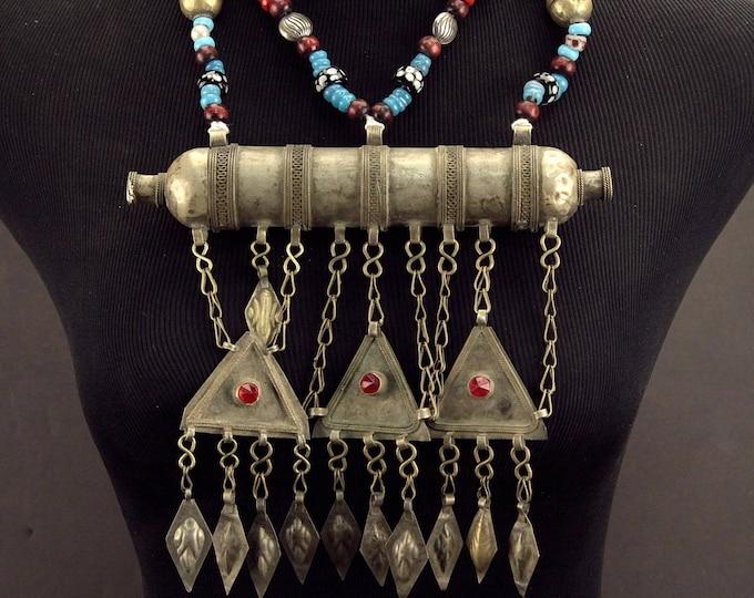 Turkoman Tribe Tumar NECKLACE Bellydance Tribal Dance 812s2