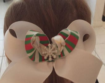 Boutique Hair Bow - Perfect for the Holidays
