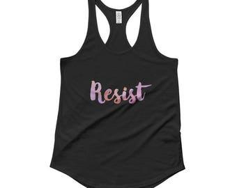 Resist Ladies' Shirttail Tank