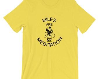 Cycling Themed Short-Sleeve Unisex T-Shirt