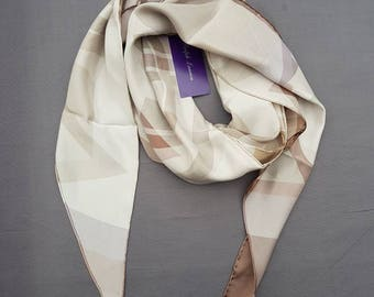 Ralph lauren polo women's scarf, original, 100% silk