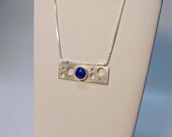 Suspend Pendant: Lapis Lazuli