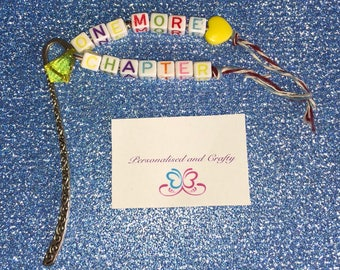 One more chapter bookmark, bookmark gift,