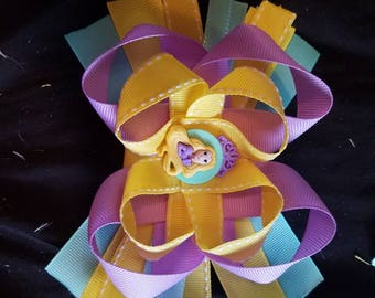 Rapunzel hair bow