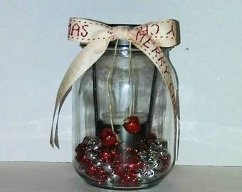 "Holiday Candle Decoration #1 | 5""h x 3""w (medium)"