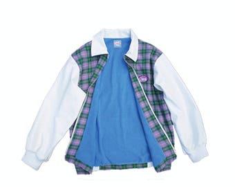 Blue Check Jacket