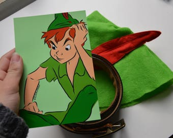 Peter Pan painting