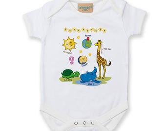Babysuit (personalized)-White-girl