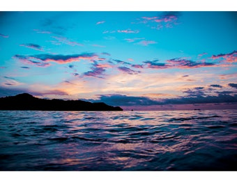 Landscape Photography - Natures Paintings v02, Nature Photography, Sunrise, Costa Rica, Mountains, Prints, Canvas