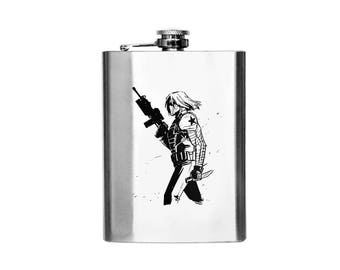 Marvel - Winter Soldier Designer Flask