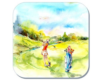 On the Green - Ladies Golf Coaster