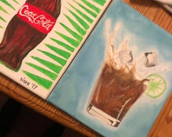 Rum and Coke Canvas