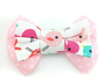Spring chickadee - Pet bow tie