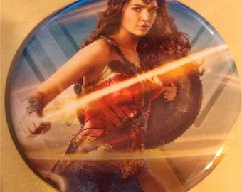 Wonder Woman Lasso 2.25 Inch Wearable Button