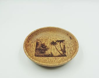Coconut wood Salad/Serving bowl