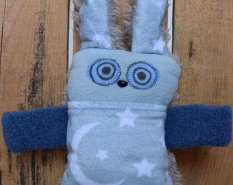 For all AGES - pouch made from clothing lint recovered