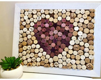 Red Heart Cork Board 13 x 16