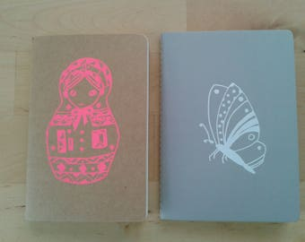 screen printed book