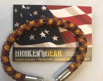 Broken Gear Bullet Bracelet - Skins