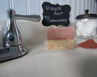 Madder Root Soap 3.5 oz