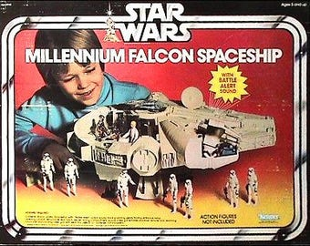 Star Wars Millenium Falcon near mint