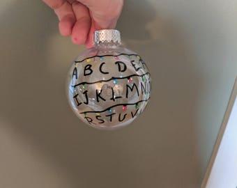 Stranger Things Christmas Ornament