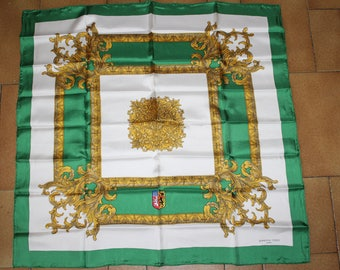 Made in France Bianchini holiday Lyon silk scarf