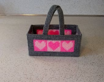 Handmade Heart Basket