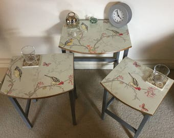 Upcycled Nest of Tables