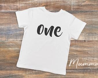 First Birthday, Custom Children's T-Shirt, Infant T-Shirt, Custom Baby Onesie, Infant Bodysuit