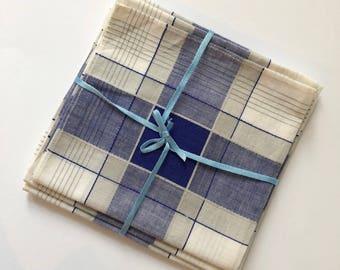 Vintage handkerchief set of 3