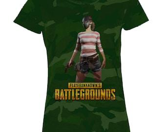 PlayerUnknowns BattleGrounds (PUBG) Inspired Camouflage T-Shirt