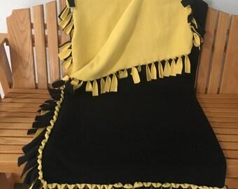 Super cozy double sided Fleece Blanket