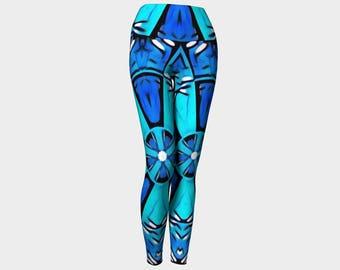 Blue city Yoga leggings