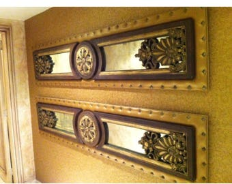 A wonderful pair of wall decoration panels.