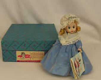 "Madame Alexander collectible vintage 7.5 "" doll, International Series, United States #559"