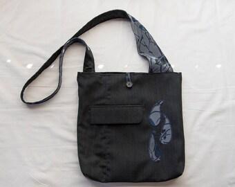 Blue Forest Messenger Bag