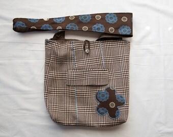 Mini Medallion Messenger Bag