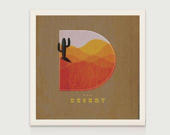 D- is for Desert