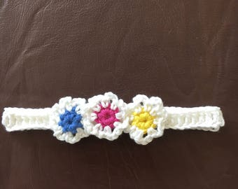 Baby Headbands - hand crocheted