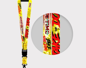 Adventure Time Jake the Dog Lanyards