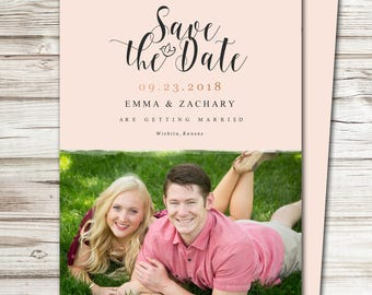 Save the Date Announcement, Save the Date Magnet, Save the Date Postcard, Charming Save the Date Announcement