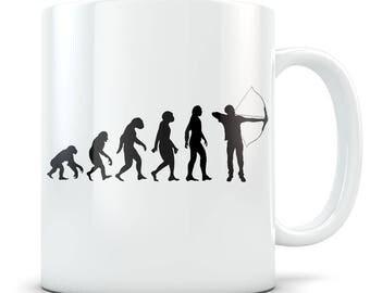Archery Mug, archery gift, archery gift idea, archery gift for men, archery hunting gifts, gift for archery, archer gift